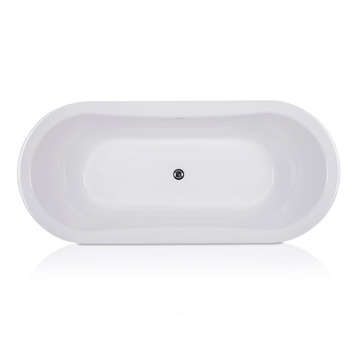 Reka bentuk Oval Soaking Bathtest