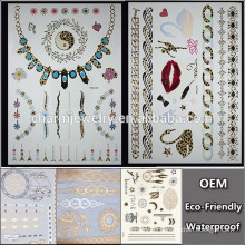 OEM Wholesale wrist watch tattoo with leopard tattoo popular brands temporary tattoo Sticker for adults QY101