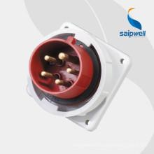Saip / Saipwell haute qualité 5 broches fiche et prise avec certification CE