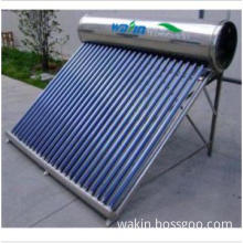 Solar energy water heater pressurized vacuum tube solar energy