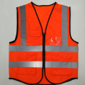 Yellow Reflective High Visibility Safety Vest