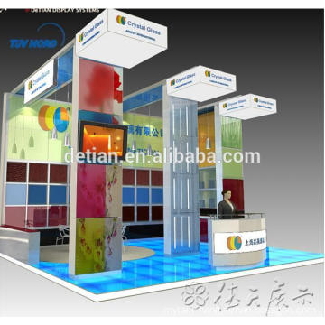 Detian Offer stand exhibition booth design/ Fair Booth Stand Construction