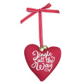"Christbaumschmuck mit ""Jingle all the way"""