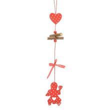 FQ marca navidad decoración madera nuevo diseño navidad colgando decoración