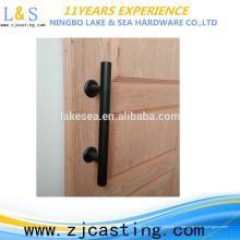 Hardware de alta calidad y fácil de usar, tiradores de puerta de granero para uso industrial
