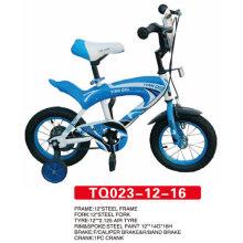 12 polegadas azul novo modelo crianças bicicleta / bebê bicicleta