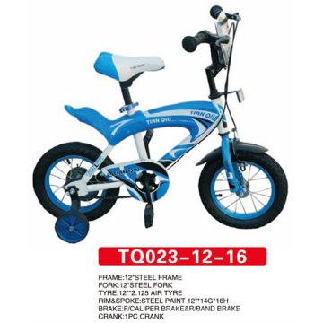 12 pouces bleu nouveau modèle enfants vélo / vélo de bébé