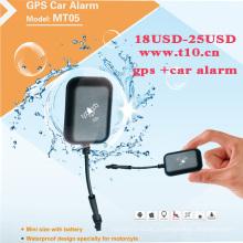 Небольшое устройство слежения с GPS + беспроводной интернет + фунтов, за исключением конструкции электричества, в режиме реального времени позиционирования, интеллектуального мониторинга (MT05-кВт)