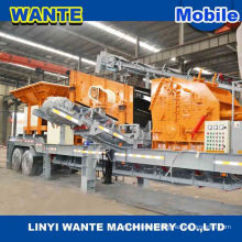 china hot sale high quality Small Mobile Jaw Crusher Station Mobile Stone Cutting machine With Diesel Engine