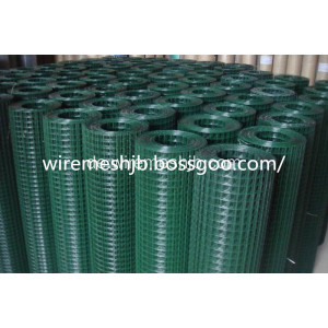 PVC-beschichtete geschweißte Maschendraht-China-Hersteller