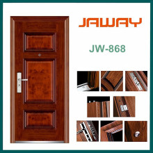 China Cheapest Entrance Steel Door for Security