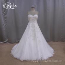 Bestickte Mode Probe perfekte Hochzeitskleider