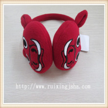 Winter ReD Pig Mascot Earmuffs