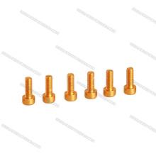 Preço inferior M3 * 6mm Hex Cabeça De Alumínio Parafuso / Parafuso