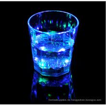 Kunststoff führte Cup blinkende Led Schrank Shot Glasses