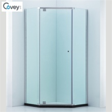 Diamond Shape Semi-Frame Shower Enclosure/Shower Cubicle (CVP050)