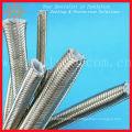Качество Нержавеющая сталь плетеный шланг тефлона PTFE