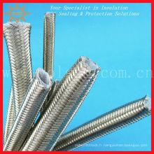 Tuyau en téflon PTFE tressé en acier inoxydable de qualité