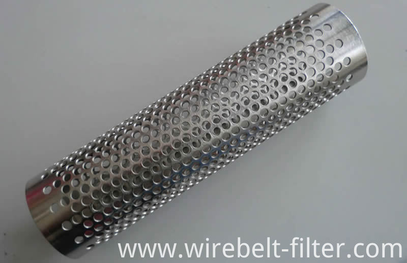 Perforated Steel Tube