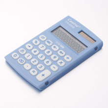 Light Blue Plastic Calculator