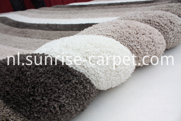 Soft Microfiber Shaggy Carpet 3d Design