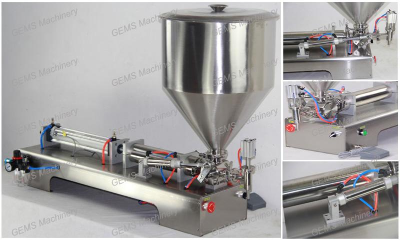 Hot Sauce Filling Machine 2