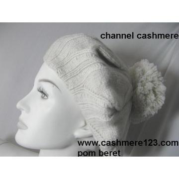 Cashmere Beret Hat POM Ty0917