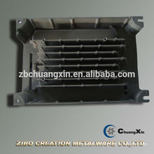 CNC-Bearbeitung extrudierte Aluminium-Kühlkörperprofile
