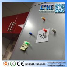 Imanes fuertes del refrigerador para la promoción modificada para requisitos particulares
