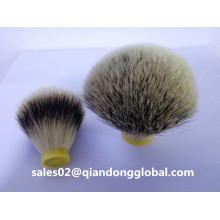 Bulbo Shape Silvertip Badger Hair Knots