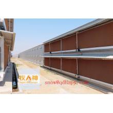 Tampons de refroidissement humides avec conception et construction en un seul arrêt