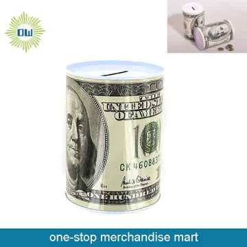 Dollar Items of Tin Money Saver