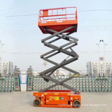 Hydraulic Electric Scissor Lifts for Garden and Parks