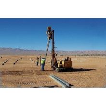 Driver de pilha para instalação de usina de energia solar fotovoltaica