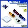 4 Farbe Aaluminium Snap-in Tubeless Ventil für Auto