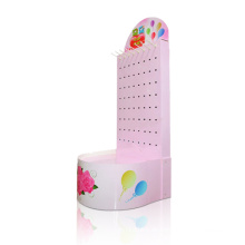 Single Side Paper Display Rack mit Haken, POS Sidekick Display