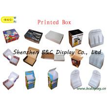 La producción de varios tipos de cajas impresas de clase, caja de regalo, caja de color corrugado (B & C-I020)