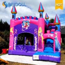 Chasse gonflable Frozen Princess Bounce Castle Bouncer gonflable Jumping Bouncy Castle
