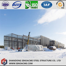 Pipe Truss for Roof of Heavy Steel Workshop