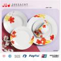Projeto pintado à mão da placa de jantar da porcelana 18PCS porcelana