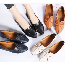 SE1909W  High quality genuine leather casual shoes women