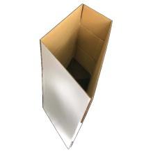 A caixa branca de alta qualidade