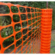 Filet d'avertissement orange PE Safety