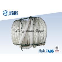 Corde de remorquage de polypropylène de 12 brins pour le bateau