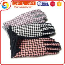 Großhandel billig mehrfarbig Marled erwachsene Kapuze Winter Acryl gestrickte Handschuh von niedrigen MOQ