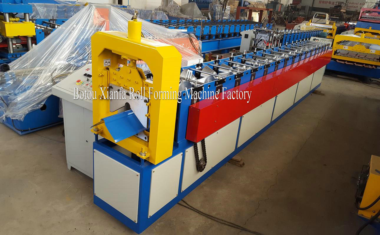roof tile metal cap making machine