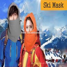 6in1 Fleece invierno gorras y sombreros, la cara completa de invierno proteger, máscara de esquí pasamontañas