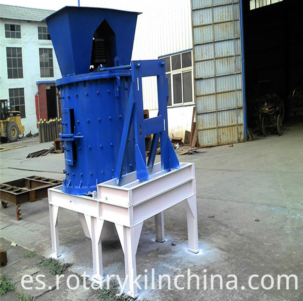 Global Best Quality Cement Materials Vertical Crusher Machine