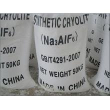 Weißes Pulver Synthetischer Kryolith (Na3AlF6) für gebundene Schleifmittel