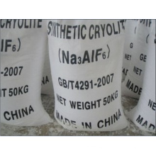 White Powder Synthetic Cryolite (Na3AlF6) for Bonded Abrasives